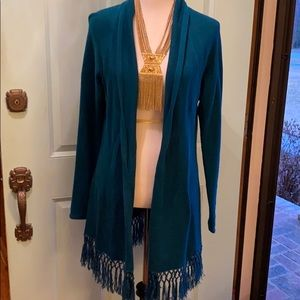 Lilly Pulitzer Fringe Sweater